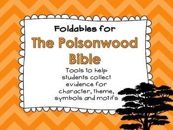 The Poisonwood Bible Foldables: Organizing Character, Them