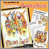 Poisson d'avril : À la manière de Sandrine Burnichon - art