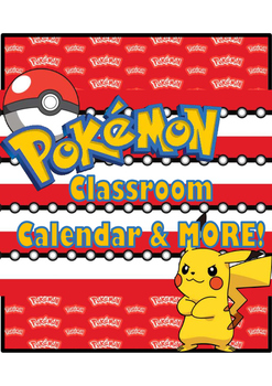 Pokémon Calendar & More!