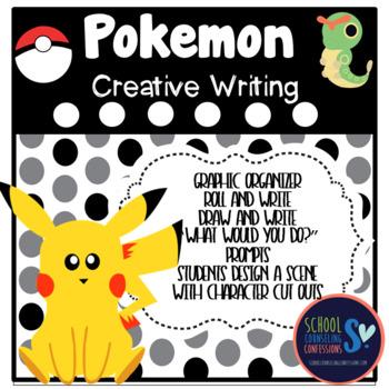 Pokemon Creative Writing Activities and Pokemon Paper