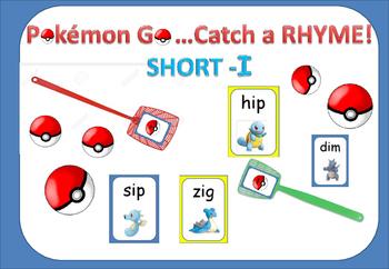 Pokémon Go! Catch the Rhyming Words- Short I