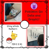 Pokemon Go Data and Graphs! Using Whole Numbers TEKS 5.9C