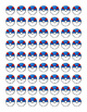 Pokemon Go Pokeball and Greatball Stickers/Tokens