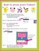 POKEMON GO Theme - EDITABLE Welcome Poster - 18 x 24