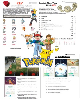 Pokemon Math