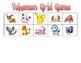 Pokemon Math Grid Games