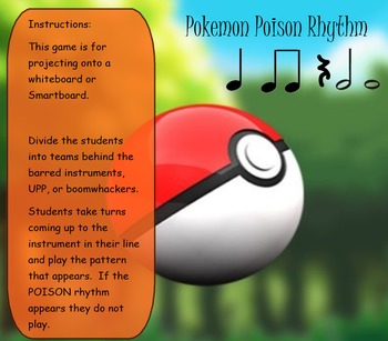Pokemon POISON Rhythms Eighth and Sixteenth