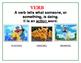 Pokémon Theme PARTS OF SPEECH posters-Primary Level