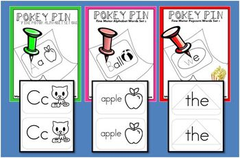 Pokey Pin Extravaganza! 3 Kits Bundled into 1