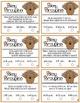 Pokey Porcupine Poke Cards: Elapsed Time