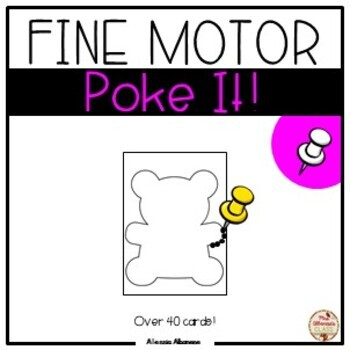Poking - Fine Motor Fun!