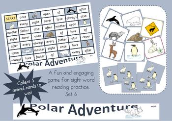 Polar Adventure - sight word game