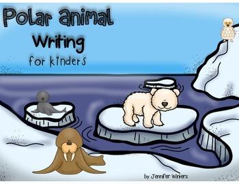 Polar Animal Writing for Kinders