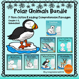 Polar Animals Bundle: Reading Comprehension Passages For G