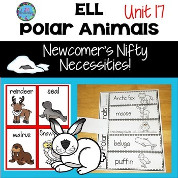 ESL NEWCOMERS:  Polar Animals to use for ELL Activities!