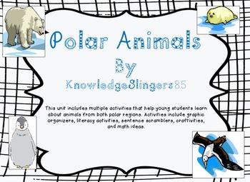 Polar Animals Mini Unit