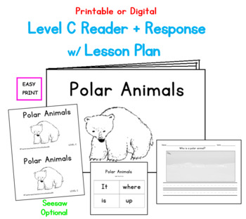 Polar Animals Printable Book: Guided Reading Level C