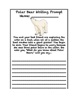 Polar Bear/Arctic Writing Prompt