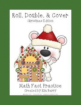 Polar Bear Christmas Roll, Double, & Cover
