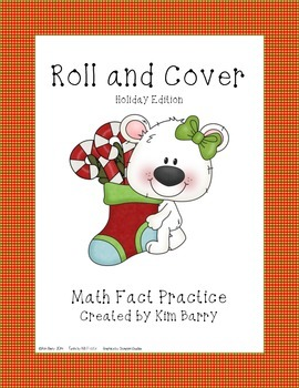 Roll and Cover - Christmas Polar Bear