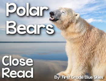 Polar Bear Close Read