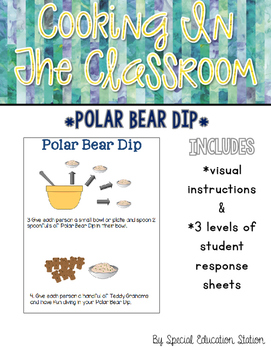 Polar Bear Dip{Cooking In The Classroom}
