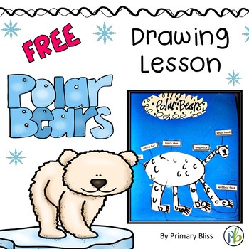 Polar Bear Drawing with a Flare