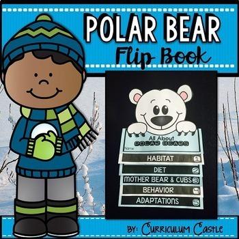 Polar Bears Flip Book {Reading Comprehension & Craft}