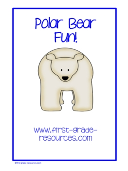 Polar Bear Fun for Literacy and Math Centers