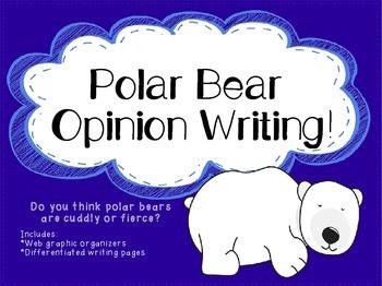 Polar Bear Opinion Writing
