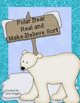 Polar Bear Real or Make Believe Activity Pack