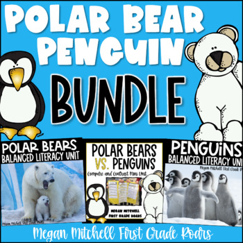 Polar Bear and Penguin Bundle