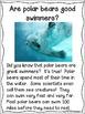 Polar Bears Close Reading Freebie