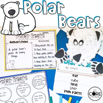Polar Bears-Informational Read Aloud, Lesson Plans and Activities