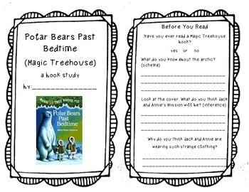 Polar Bears Past Bedtime (Magic Treehouse) Book Study