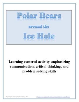 Polar Bears around the Ice Hole Activity