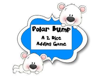 Polar Bump - A 2 Dice Adding Game
