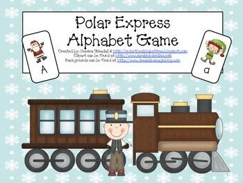 Polar Express Alphabet game