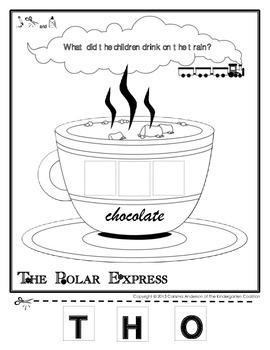 Polar Express Hot Chocolate Activity