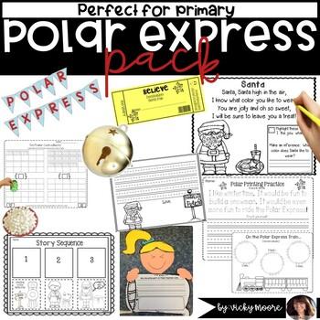 North Pole Mega Pack { ELA, Math, craftivity }