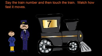 Polar Express Numbers 0-20 Smartboard