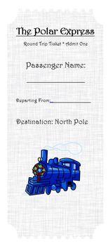 Polar Express Train Ticket