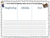 Polar Express Writing Freebie