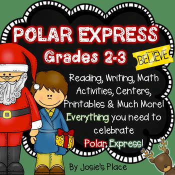 Polar Express and December Fun for Grades 2 and 3
