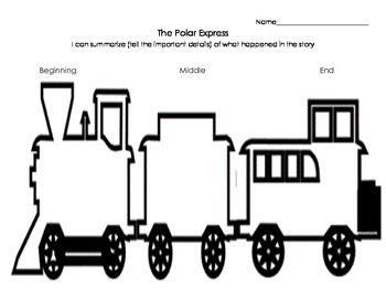 Polar Express summarizing sheet