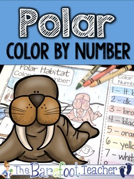 Polar Color by Number FREEBIE