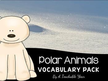 Polar Pals- Vocabulary Pack