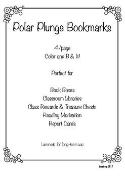 Polar Plunge Bookmarks