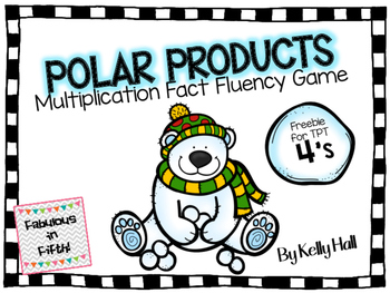 Polar Products Freebie: Multiplication Fact Fluency Game