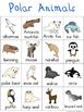 Polar Writing Center Tools: Habitat Words